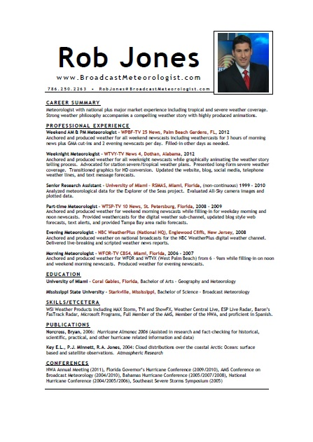 Www broadcastmeteorologist com